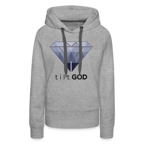 tiltGOD Logo V1 - Frauen Premium Hoodie