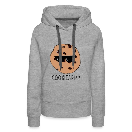 CookieArmy2 - Frauen Premium Hoodie