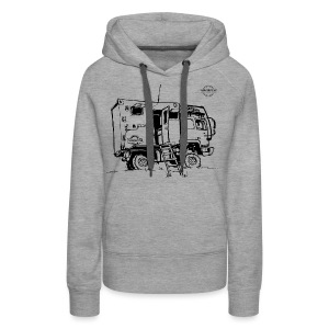 Sketch Expedition Truck Terratrotter® - Women's Premium Hoodie