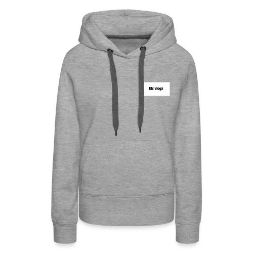Elz vlogz merch - Women's Premium Hoodie