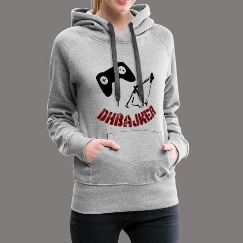 dhbajker logo - Frauen Premium Hoodie