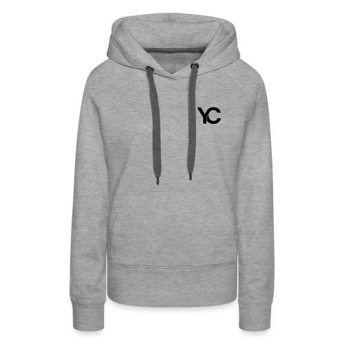 YC Black Logo - Women's Premium Hoodie