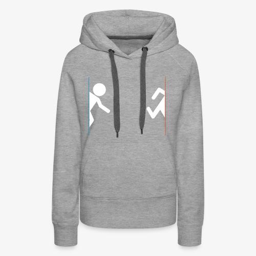portal - Vrouwen Premium hoodie