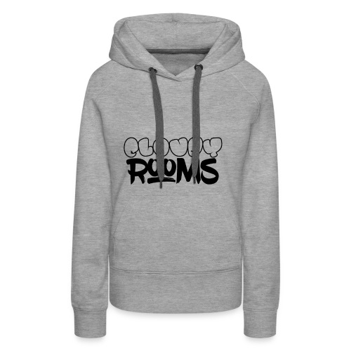 Cloudy Rooms OG Logo - Women's Premium Hoodie