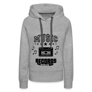 TKHKI MUSIC RECORDS - Naisten premium-huppari