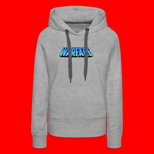 Warfare 2018 Logo Printed Merchandise - Women's Premium Hoodie