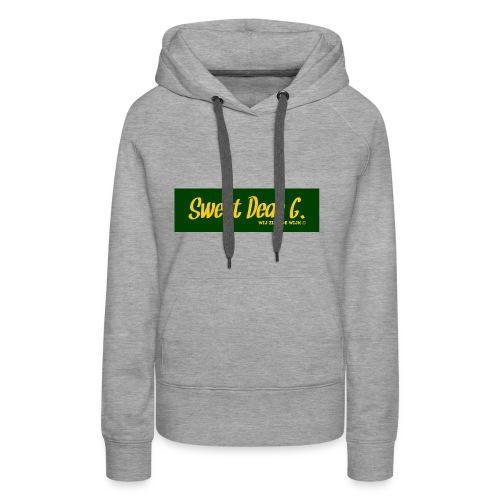 Sweet Dear G Groen Geel - Vrouwen Premium hoodie