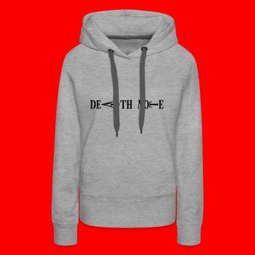 Death Note - Sudadera con capucha premium para mujer