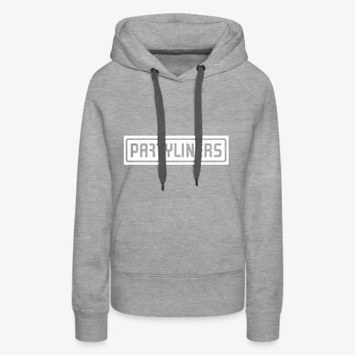 PARTYLINERS Design - Dame Premium hættetrøje