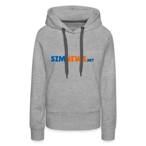 SimNews.net - Frauen Premium Hoodie