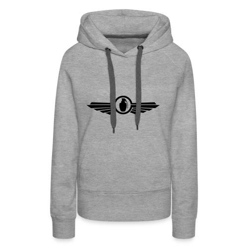 Goonfleet wings logo - Frauen Premium Hoodie