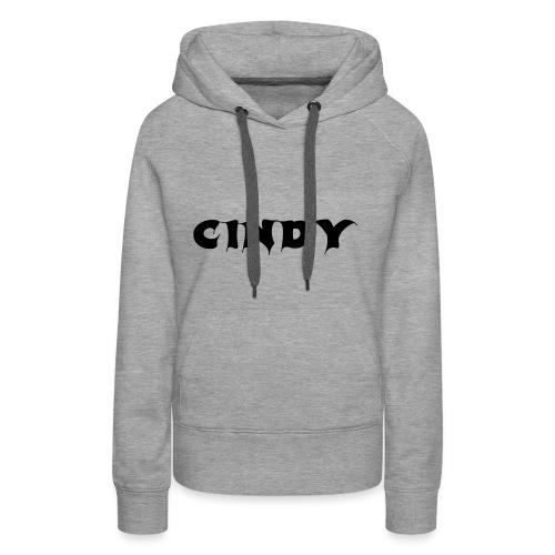 Cindy - Frauen Premium Hoodie