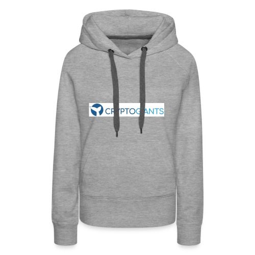 CryptoGiants Logo - Frauen Premium Hoodie