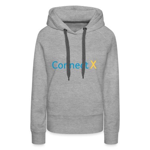 CXlogoC - Sweat-shirt à capuche Premium pour femmes