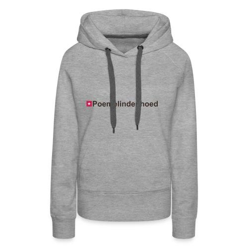 Poemelindenhoed mr hori def b - Vrouwen Premium hoodie