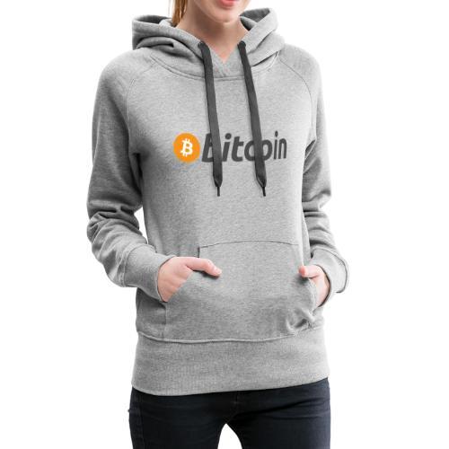 Bitcoin - Frauen Premium Hoodie