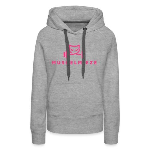 Muskelmieze Pink - Frauen Premium Hoodie
