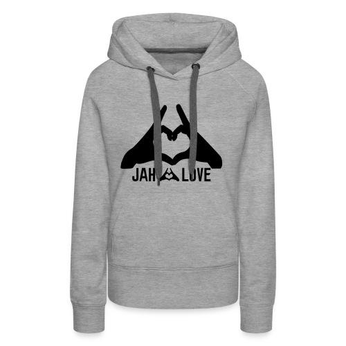 Jah Love - Sweat-shirt à capuche Premium pour femmes
