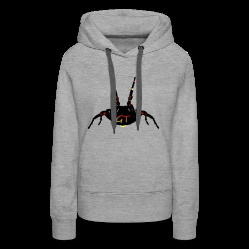 Spider Attack GT - Sweat-shirt à capuche Premium pour femmes