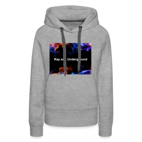Rap and underground logo - Frauen Premium Hoodie
