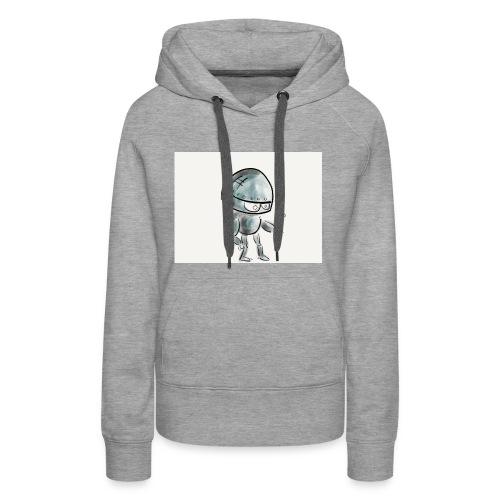 Robot - Vrouwen Premium hoodie
