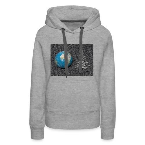 world_christmas3 - Sweat-shirt à capuche Premium pour femmes