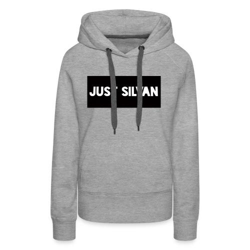 Just Silvan Merchandise - Vrouwen Premium hoodie