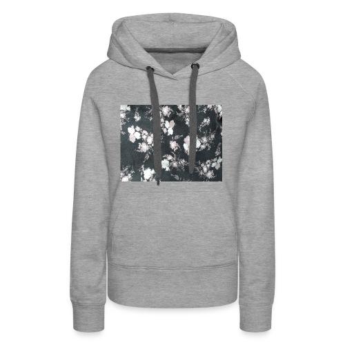 Dark Flowers - Frauen Premium Hoodie