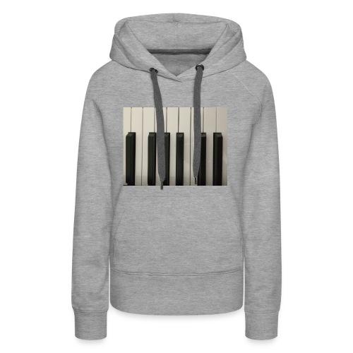 Piano T-Shirt - Frauen Premium Hoodie