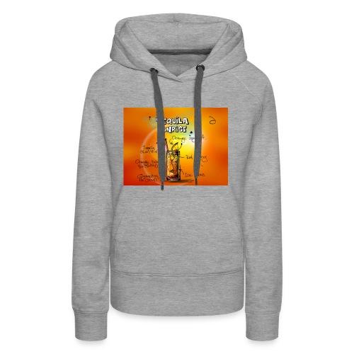 tequila sunrise - Frauen Premium Hoodie