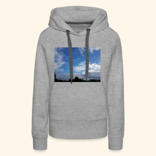 himmlisches Wolkenbild - Frauen Premium Hoodie