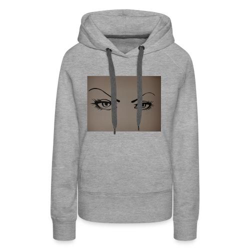 Augen - Frauen Premium Hoodie