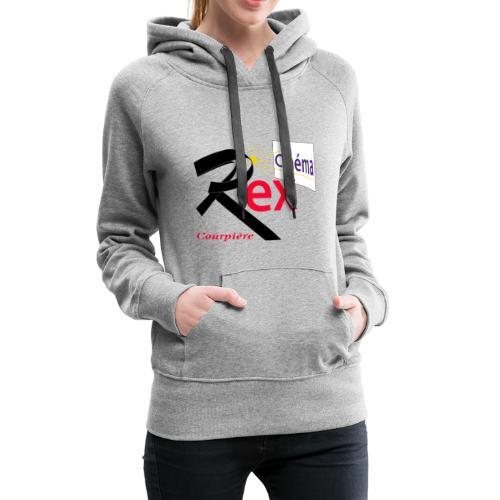 Cinéma Rex - Sweat-shirt à capuche Premium pour femmes