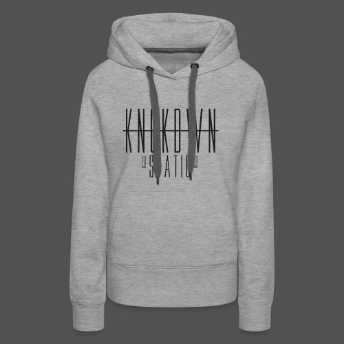 KNCKDWN static 2018 - Frauen Premium Hoodie