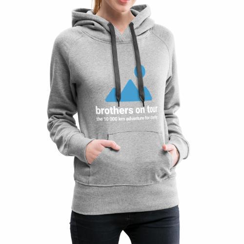 Brothers on Tour - Logo 1 - Frauen Premium Hoodie