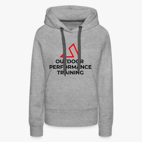 New OPT Logo 2018 - Frauen Premium Hoodie