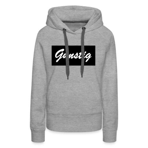 GUNSTIG CAP SCND - Vrouwen Premium hoodie
