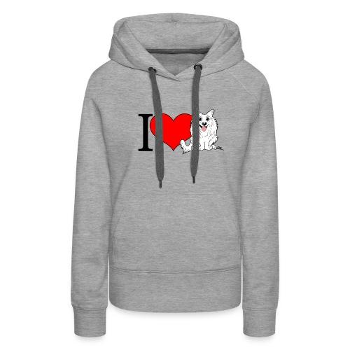superkees zwart wit - Vrouwen Premium hoodie