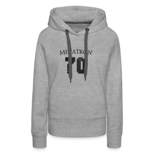 META FOOT 70 - Sweat-shirt à capuche Premium pour femmes