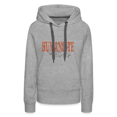 HUMANISTE - Sweat-shirt à capuche Premium pour femmes