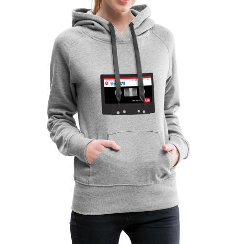 Audio Cassette - Vrouwen Premium hoodie