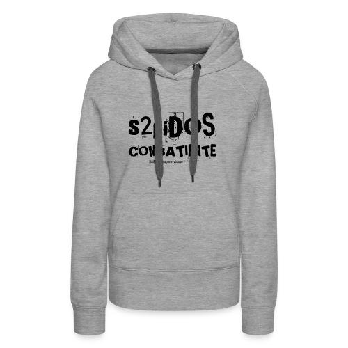 s2pidos combatiente (superviviente) - Vrouwen Premium hoodie