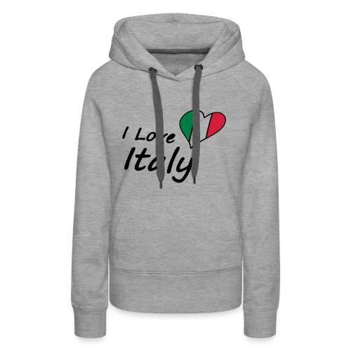 I Love Italy - Frauen Premium Hoodie