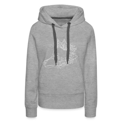 Graphic Wolf - Vrouwen Premium hoodie