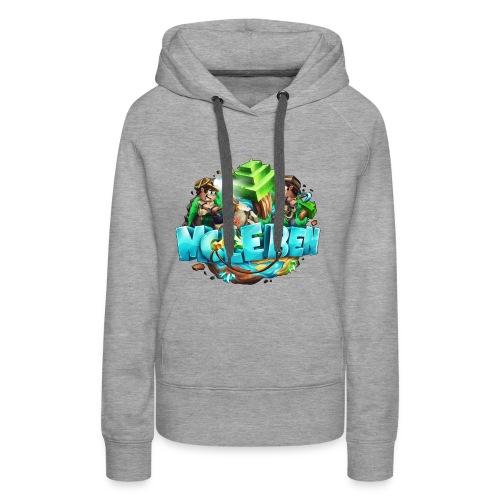 Großes Logo - Frauen Premium Hoodie