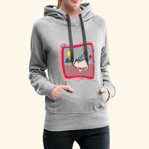 Maus Illustration - Frauen Premium Hoodie