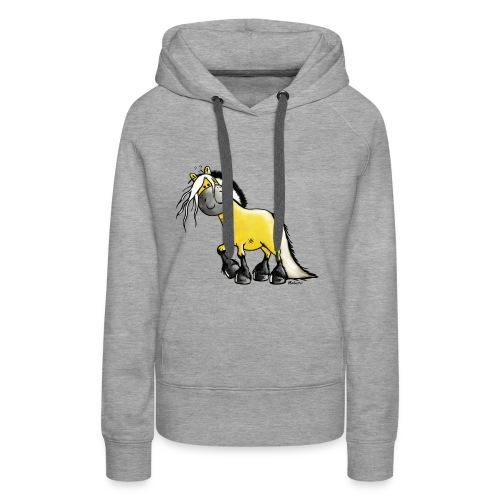 fjord horse - Frauen Premium Hoodie