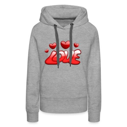 love 150277 1280 - Frauen Premium Hoodie