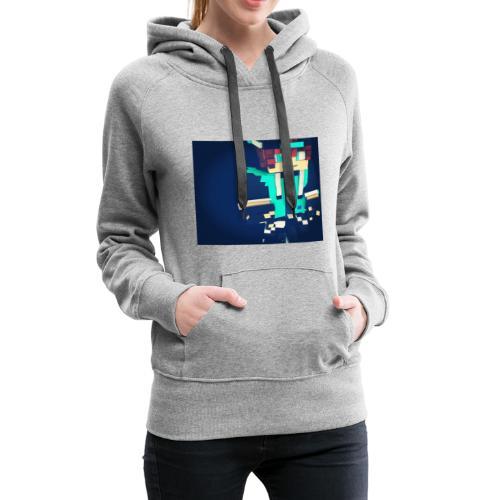 La peau de x9nico en 3D en mode Walden - Sweat-shirt à capuche Premium pour femmes