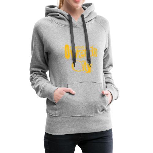 Owendocity by famous.241 - Sweat-shirt à capuche Premium pour femmes
